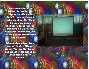 """Presentación de la Situación Didáctica: """"Apreciar Obras de Arte ..."""