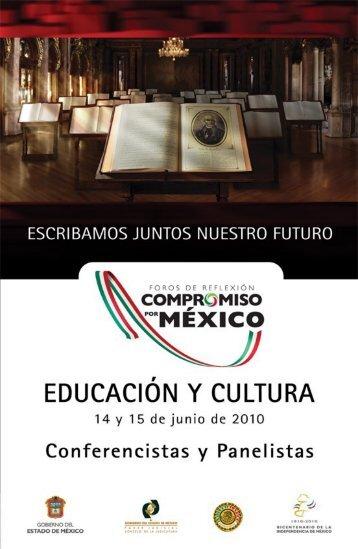 Eje Educación y Cultura - Gobierno del Estado de México