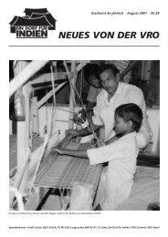 Zeitschrift Nr. 29 - VRO Schweiz