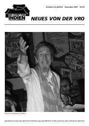 Zeitschrift Nr. 30 - VRO Schweiz