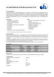 Download Technische Daten als PDF - Oli Lacke GmbH