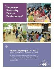 + + Annual Report [2012 – 2013]