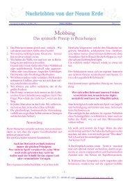 Mobbing - Seminarzentrum-neue-erde.de