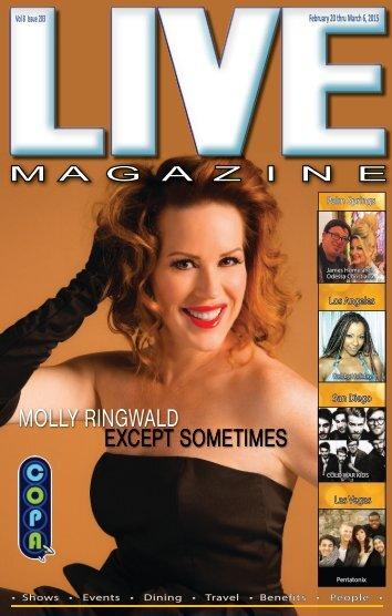 LiVE MAGAZINE VOL 8, Issue #203 February 20th THRU March 6th, 2015
