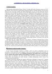 LA COSIDDETTA RIVOLUZIONE COPERNICANA