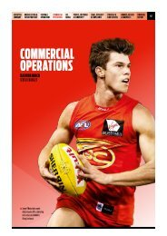 2013 AFL Annual Report_04_CommercialOperations