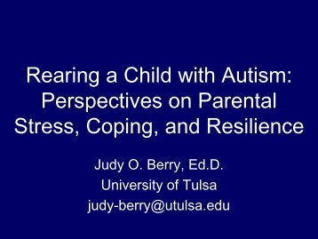 Berry Powerpoin - Oklahoma Autism Network