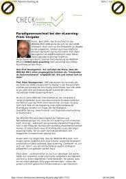 Interview mit Herrn Prof. Peter Baumgartner - Medida-Prix