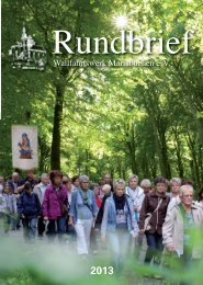 Rundbrief 2013 v2_Rundbrief 2010 v1 - Mariabuchen