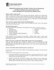 Sudden Cardiac Arrest Symptoms Information Sheet - Maritime ...