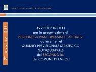 Presentazione alla Commissione Ambiente Territorio del 22/03/2012