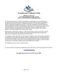 Transferware Collectors Club