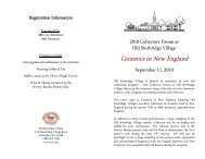 Ceramics in New England - Transferware Collectors Club
