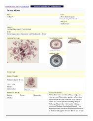 Print View Sample - Transferware Collectors Club