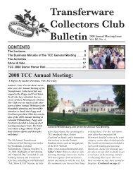 Complete description - Transferware Collectors Club