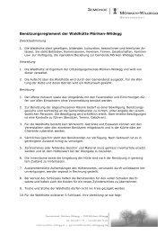 Benützungsreglement der Waldhütte Möriken-Wildegg - Gemeinde ...