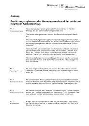 AnhangReglement2013neu - Gemeinde Möriken-Wildegg