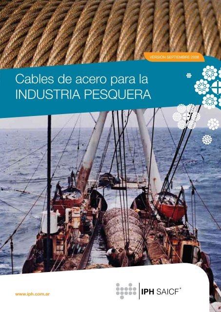 Cables de acero para la INDUSTRIA PESQUERA - iph saicf