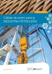 Cables de acero para la INDUSTRIA PETROLERA - iph saicf