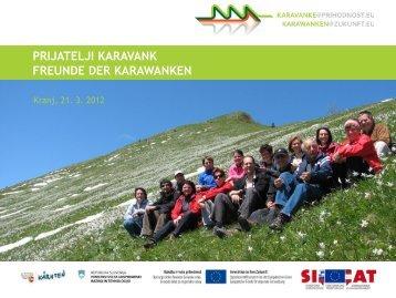 Prijatelji Karavank - Karavanke@prihodnost.eu