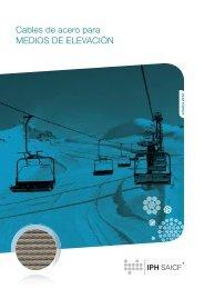 IPH Cables de acero para Medios de Elevación - iph saicf