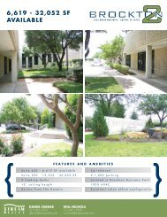 6,619 - 32,052 SF AVAILABLE