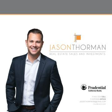 Jason Thorman Real Estate and Investments