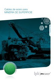 Cables de acero para MINERÍA DE SUPERFICIE - Amazon S3