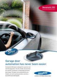 Garage door automation has never been easier. - Dallat Group