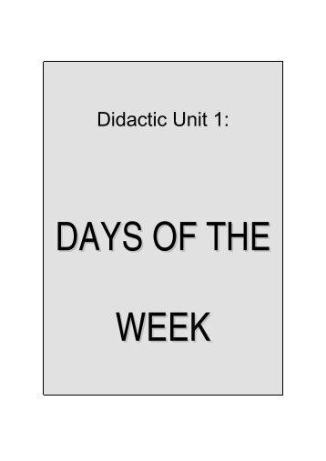 Didactic Unit 1: