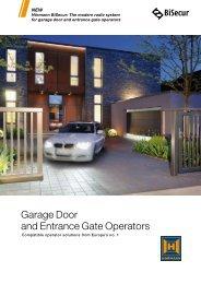 Series 3 BiSecur Operators - Access Garage Doors Ltd