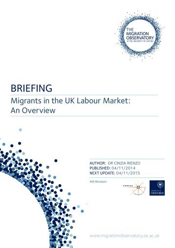 Briefing - Migrants in the UK Labour Market_0