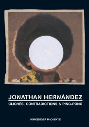 Jonathan Hernández - Clichés, Contradictions & Ping-Pong