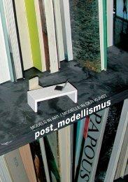 post_modellismus – models in art - krinzinger projekte - Galerie ...