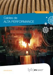 Cables de ALTA PERFORMANCE - iph saicf