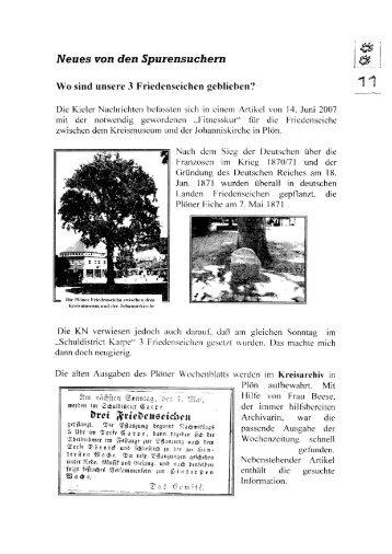 Spurensucher - Dörnick