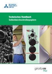 Technisches Handbuch ... - Mitsubishi Paper