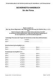 Asphaltierer, Schwarzdecker - Wirtschaftskammer Österreich