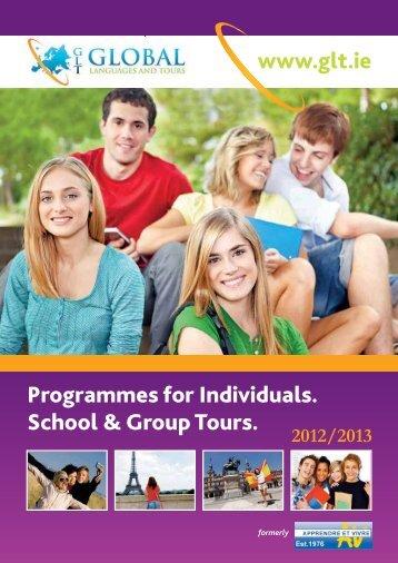 GLT 28pp brochure 2013-purple:Layout 3 - Global Language Tours