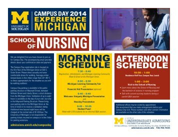 Nursing - University Housing - University of Michigan