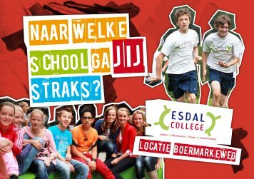 Folder Esdal College Boermarkeweg