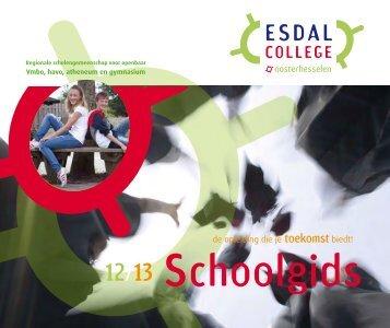 Schoolgids Oosterhesselen 2012-2013 - Esdal College