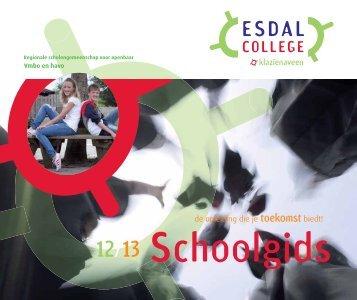 Schoolgids Klazienaveen 2012-2013 - Esdal College