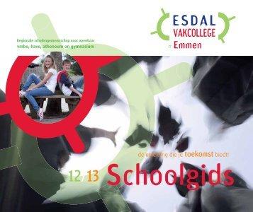 de opleiding die je toekomst biedt! - Esdal College