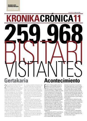 Gertakaria Acontecimiento - Museo de Bellas Artes de Bilbao