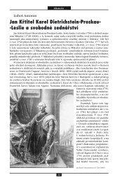 Jan Křtitel Karel Dietrichstein-Proskau- -Leslie a svobodné zednářství