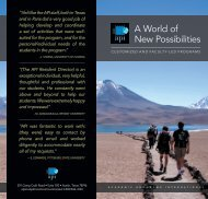 A World of New Possibilities - API Study Abroad