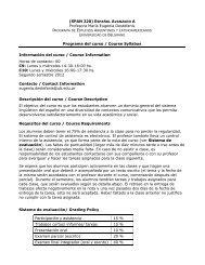 ESPAÑOL AVANZADO A - API Study Abroad