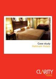 Case study Hallmark Hotels - cleverhotel.org