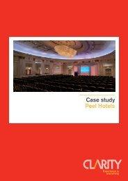 Peel Hotel Group - Case Study - cleverhotel.org